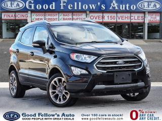 Used 2018 Ford EcoSport TITANIUM, SUNROOF, NAVIGATION, REARVIEW CAMERA,4WD for sale in Toronto, ON