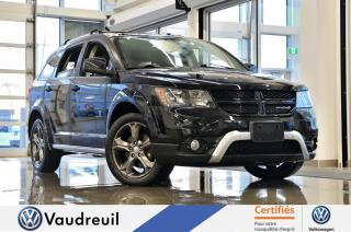 Used 2015 Dodge Journey Crossroad * TOIT * CUIR * BLUETOOTH for sale in Vaudreuil-Dorion, QC