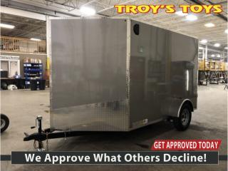 Used 2020 Canadian Trailer Company 7x10 V-Nose Cargo Trailer for sale in Guelph, ON