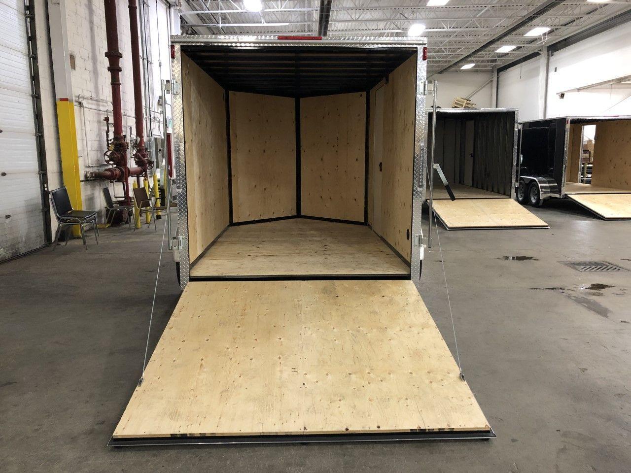 2020 Canadian Trailer Company 7x10 V-Nose Cargo Trailer