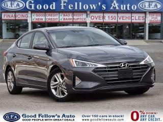 Used 2019 Hyundai Elantra PREFERRED, SUNROOF, REARVIEW CAMERA, HEATED WHEEL for sale in Toronto, ON