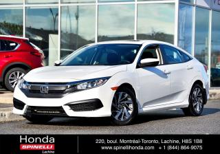 Used 2016 Honda Civic EX AUTO TOIT BAS KM BAS KM AUTO TOIT MAGS BLUETOOTH for sale in Lachine, QC