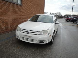 Used 2008 Volkswagen City Golf CLOTH SAFETY WARRANTY NO ACCIDENT CLAIMS for sale in Oakville, ON