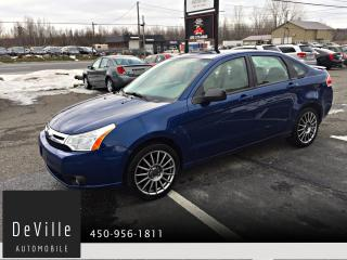 Used 2009 Ford Focus 2009 Ford Focus SES AUTO A/C CUIR for sale in Granby, QC