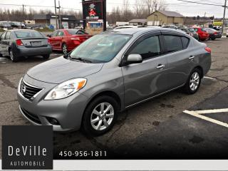 Used 2012 Nissan Versa Berline 4 portes SL for sale in Granby, QC