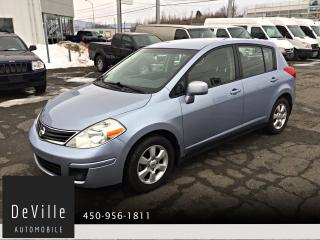 Used 2010 Nissan Versa 2010 Nissan Versa Hatchback S Automatiqu for sale in Granby, QC