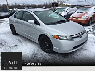 Used 2006 Honda Civic 2006 Honda Civic 4 portes Manuelle for sale in Granby, QC