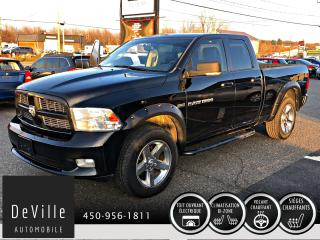 Used 2011 RAM 1500 Sport 4x4 Cuir Quad cab Boite Courte for sale in Granby, QC