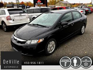 Used 2009 Honda Civic 2009 Honda Civic DX-G Auto 65 752 KM for sale in Granby, QC