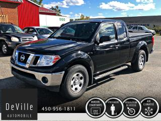 Used 2010 Nissan Frontier 2010 Nissan Frontier King Cab Auto for sale in Granby, QC