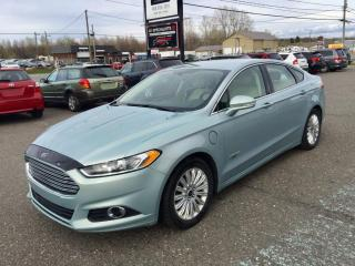 Used 2013 Ford Fusion 2013 Ford Fusion SE Luxury Pkg Hybride for sale in Granby, QC