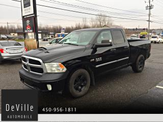 Used 2013 RAM 1500 2013 Ram 1500 QUAD cab ST 4WD 6,4 box for sale in Granby, QC