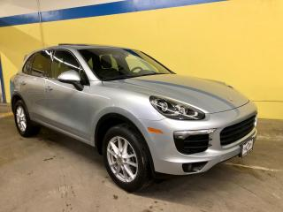 Used 2017 Porsche Cayenne Panoramic Sunroof, Navigation for sale in Vaughan, ON