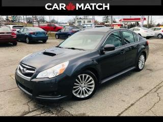 Used 2011 Subaru Legacy 2.5i GT w/NAV / NO ACCIDENTS for sale in Cambridge, ON