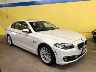 Used 2015 BMW 5 Series xDrive, Navi, Blind Spot, HUD, 360 Cam for sale in Vaughan, ON