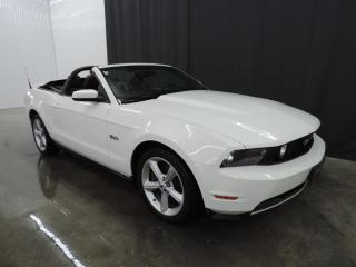 Used 2011 Ford Mustang GT - DÉCAPOTABLE for sale in St-François-Du-Lac, QC
