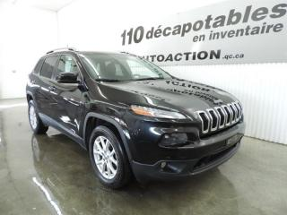 Used 2016 Jeep Cherokee NORTH V6 4x4 - CAMÉRA - CUIR - DÉM. À DISTANCE for sale in St-François-Du-Lac, QC