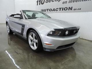 Used 2012 Ford Mustang GT DÉCAPOTABLE - AUTOMATIQUE - ALARME DE RECUL - B for sale in St-François-Du-Lac, QC