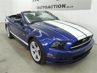 Used 2013 Ford Mustang GT DÉCAPOTABLE CUIR XÉNON BLUETOOTH for sale in St-François-Du-Lac, QC