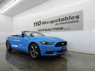 Used 2017 Ford Mustang V6 - DÉCAPOTABLE - MANUELLE for sale in St-François-Du-Lac, QC