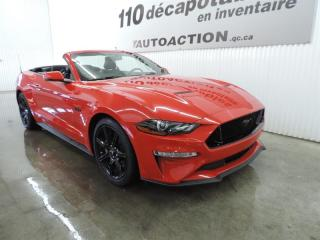 Used 2018 Ford Mustang GT Premium - DÉCAPOTABLE - NAVIGATION for sale in St-François-Du-Lac, QC