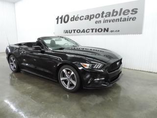 Used 2016 Ford Mustang DÉCAPOTABLE - CAMÉRA DE RECUL for sale in St-François-Du-Lac, QC