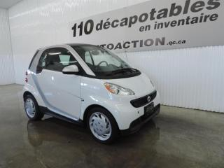 Used 2015 Smart fortwo Pure for sale in St-François-Du-Lac, QC