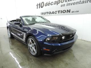 Used 2011 Ford Mustang GT - DÉCAPOTABLE - BAS KILOMÉTRAGE for sale in St-François-Du-Lac, QC