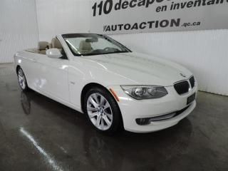 Used 2011 BMW 3 Series 328i DÉCAPOTABLE - NAVIGATION for sale in St-François-Du-Lac, QC