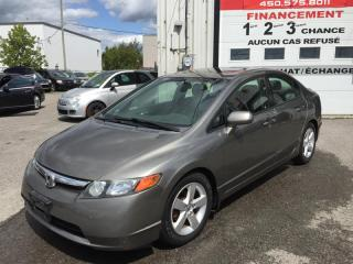 Used 2008 Honda Civic EX-L+ CUIR for sale in Ste-Dorothée, QC