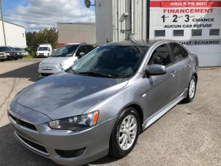 Used 2012 Mitsubishi Lancer SE FWD for sale in Ste-Dorothée, QC