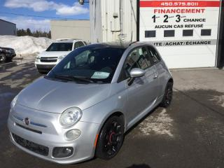 Used 2012 Fiat 500 Sport for sale in Ste-Dorothée, QC