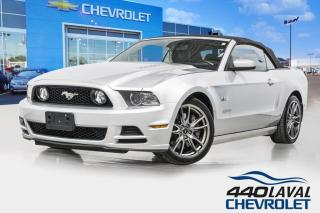 Used 2014 Ford Mustang GT 50L convertible automatique cuir premium for sale in Laval, QC