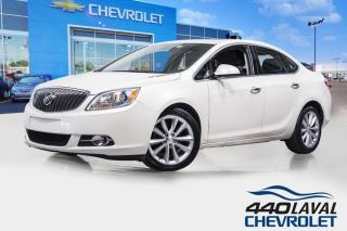 Used 2016 Buick Verano LEATHER CUIR GPS volant chauffant toit ouvrant for sale in Laval, QC