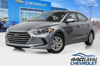 Used 2017 Hyundai Elantra LE automatique sièges chauffants bluetooth for sale in Laval, QC