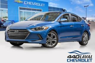 Used 2017 Hyundai Elantra LIMITED SE GPS cuir toit ouvrant sièges chauffants for sale in Laval, QC