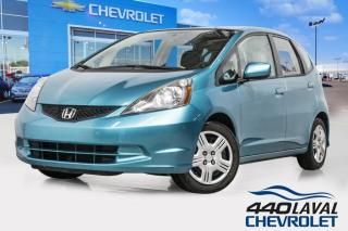 Used 2013 Honda Fit LX a-c manuelle bluetooth groupe électrique for sale in Laval, QC