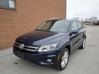 Used 2013 Volkswagen Tiguan AWD, ONE OWNER /NO ACCIDENTS for sale in Oakville, ON