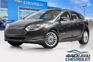 Used 2018 Ford Focus ÉLECTRIQUE GPS cuir sièges chauffants a/c mags for sale in Laval, QC