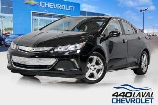 Used 2017 Chevrolet Volt LT cuir caméra de recul sièges et volant chauffant for sale in Laval, QC