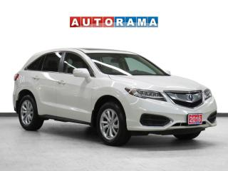 Used 2016 Acura RDX Tech Pkg 4WD Navigation Leather Sunroof Backup Cam for sale in Toronto, ON