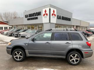 Used 2005 Mitsubishi Outlander LS Super deal for sale in Roberval, QC