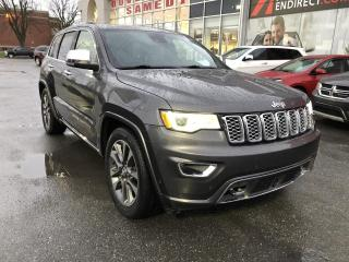 Used 2017 Jeep Grand Cherokee 4X4 | Overland | Ens. Sécurité Active for sale in St-Hyacinthe, QC