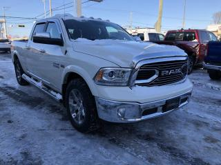 Used 2017 RAM 1500 Limited CREW / +3.92 diss. / Sièges vent for sale in St-Hyacinthe, QC