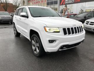 Used 2016 Jeep Grand Cherokee 4 RM Overland ENS. TECHNOLOGIE ÉVOLUÉE H for sale in St-Hyacinthe, QC