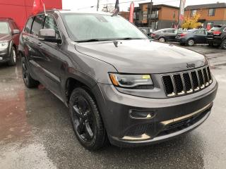 Used 2015 Jeep Grand Cherokee Overland HIGH ALTITUDE ECODIESEL 4X4 for sale in St-Hyacinthe, QC