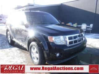 Used 2011 Ford Escape XLT 4D Utility 4WD for sale in Calgary, AB