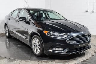 Used 2017 Ford Fusion Hybrid ENERGI TITANIUM CUIR TOIT NAVIGATION for sale in St-Constant, QC