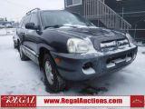 Photo of Blue 2005 Hyundai Santa Fe