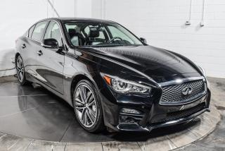 Used 2015 Infiniti Q50 S AWD CUIR TOIT NAV MAGS for sale in St-Constant, QC